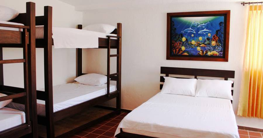 hostel reservations in Taganga